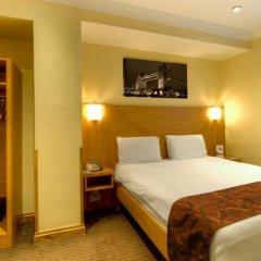 Отель Comfort Inn Hyde Park Лондон сейф в номере