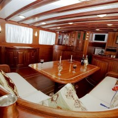 Отель Plaghia Charter Boat & Breakfast Италия, Кастелламмаре-ди-Стабия - отзывы, цены и фото номеров - забронировать отель Plaghia Charter Boat & Breakfast онлайн гостиничный бар