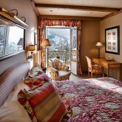 Отель Gstaad Palace Швейцария, Гштад - отзывы, цены и фото номеров - забронировать отель Gstaad Palace онлайн комната для гостей фото 2