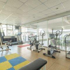 Отель Boss Mansion Бангкок фитнесс-зал фото 4