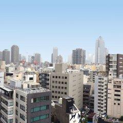 Отель UNIZO INN Tokyo Hatchobori балкон