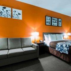 Отель Sleep Inn & Suites And Conference Center комната для гостей фото 3