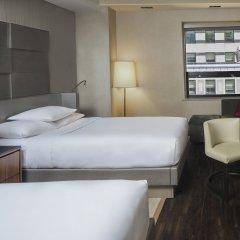 Отель Grand Hyatt New York 4* Номер Делюкс с двуспальной кроватью фото 5
