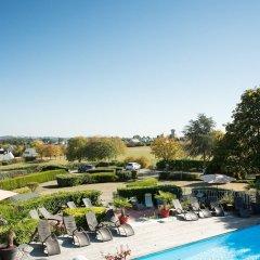 Отель Les Terrasses De Saumur Сомюр бассейн фото 3