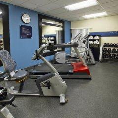 Отель Hampton Inn Jasper фитнесс-зал