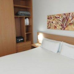 Отель Aura Park Aparthotel Оспиталет-де-Льобрегат сейф в номере