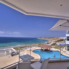 Отель Farah Tanger Марокко, Танжер - отзывы, цены и фото номеров - забронировать отель Farah Tanger онлайн балкон