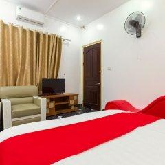 Отель OYO 889 Ha Vy Motel Ханой комната для гостей фото 2