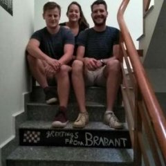Europe Town Hostel & Bar Adults Only Далат фитнесс-зал фото 2