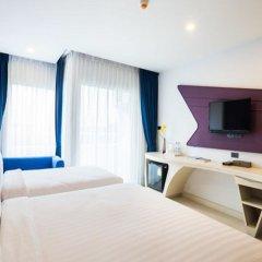 Отель Blue Boat Design Hotel Таиланд, Паттайя - отзывы, цены и фото номеров - забронировать отель Blue Boat Design Hotel онлайн комната для гостей фото 2