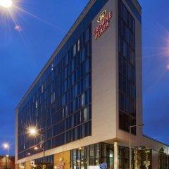 Отель Crowne Plaza Manchester City Centre Великобритания, Манчестер - отзывы, цены и фото номеров - забронировать отель Crowne Plaza Manchester City Centre онлайн вид на фасад фото 2