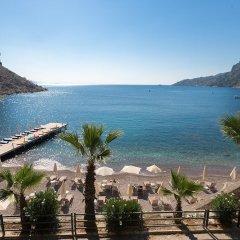 Mavi Deniz Otel Турция, Турунч - отзывы, цены и фото номеров - забронировать отель Mavi Deniz Otel - All Inclusive онлайн пляж фото 2