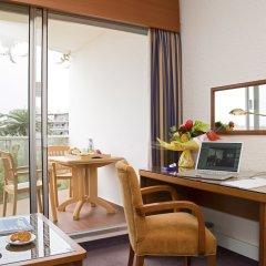 Отель Novotel Cannes Montfleury Франция, Канны - отзывы, цены и фото номеров - забронировать отель Novotel Cannes Montfleury онлайн удобства в номере фото 2