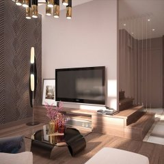 Апартаменты Uavoyage Business Apartments комната для гостей фото 4