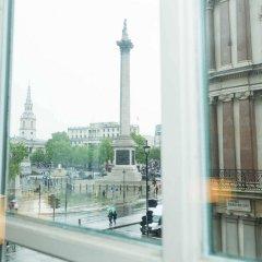 Отель The Trafalgar St. James London, Curio Collection by Hilton Великобритания, Лондон - отзывы, цены и фото номеров - забронировать отель The Trafalgar St. James London, Curio Collection by Hilton онлайн балкон
