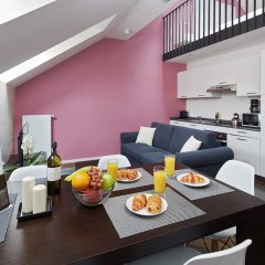 Апартаменты MH Apartments River Prague питание