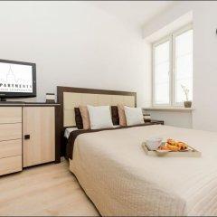 Отель P&O Apartments Plac Bankowy 1 Польша, Варшава - отзывы, цены и фото номеров - забронировать отель P&O Apartments Plac Bankowy 1 онлайн комната для гостей фото 3