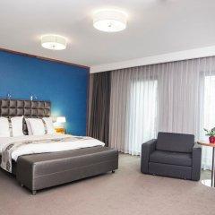 Отель Holiday Inn Krakow City Centre Польша, Краков - 4 отзыва об отеле, цены и фото номеров - забронировать отель Holiday Inn Krakow City Centre онлайн комната для гостей фото 2