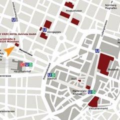 Vi Vadi Hotel Downtown Munich Мюнхен бассейн