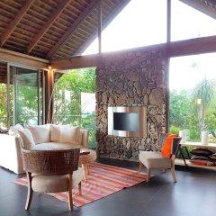 Отель Villa Manatea - Moorea Французская Полинезия, Папеэте - отзывы, цены и фото номеров - забронировать отель Villa Manatea - Moorea онлайн интерьер отеля фото 2