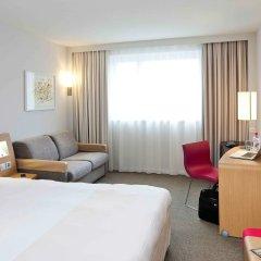 Отель Novotel Zurich City-West Швейцария, Цюрих - 9 отзывов об отеле, цены и фото номеров - забронировать отель Novotel Zurich City-West онлайн комната для гостей фото 2