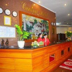 Central Hotel интерьер отеля