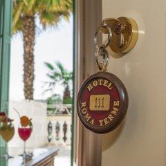 Отель Terme Roma Италия, Абано-Терме - 2 отзыва об отеле, цены и фото номеров - забронировать отель Terme Roma онлайн удобства в номере фото 2