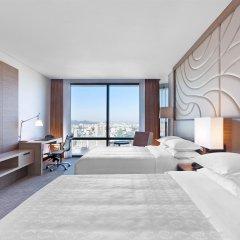 Отель Sheraton Seoul D Cube City Hotel Южная Корея, Сеул - отзывы, цены и фото номеров - забронировать отель Sheraton Seoul D Cube City Hotel онлайн комната для гостей фото 3