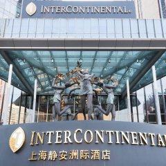 Отель InterContinental Shanghai Jing' An фитнесс-зал фото 2