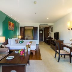 Отель Ravindra Beach Resort And Spa комната для гостей фото 10