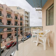 Апартаменты Luxury Holiday Apartment IN Qawra балкон