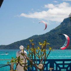 Отель Anapa Beach Французская Полинезия, Папеэте - отзывы, цены и фото номеров - забронировать отель Anapa Beach онлайн приотельная территория фото 2