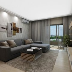 Апартаменты Uavoyage Business Apartments комната для гостей