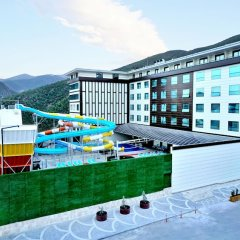 Orkis Palace Thermal & Spa Турция, Кахраманмарас - отзывы, цены и фото номеров - забронировать отель Orkis Palace Thermal & Spa онлайн бассейн фото 3