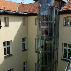 Отель Aparthotel Naprstkova балкон