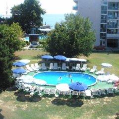 Отель Chaika Hotel Болгария, Св. Константин и Елена - отзывы, цены и фото номеров - забронировать отель Chaika Hotel онлайн бассейн фото 3
