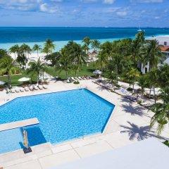 Отель Beachscape Kin Ha Villas & Suites Мексика, Канкун - 2 отзыва об отеле, цены и фото номеров - забронировать отель Beachscape Kin Ha Villas & Suites онлайн бассейн фото 2
