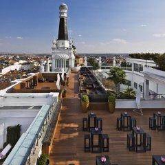 Отель ME Madrid Reina Victoria пляж