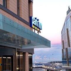 Отель Парк Инн от Рэдиссон Аэропорт Пулково Санкт-Петербург вид на фасад фото 2