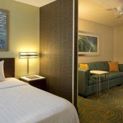 Отель Springhill Suites Columbus Airport Gahanna США, Гаханна - отзывы, цены и фото номеров - забронировать отель Springhill Suites Columbus Airport Gahanna онлайн комната для гостей фото 2