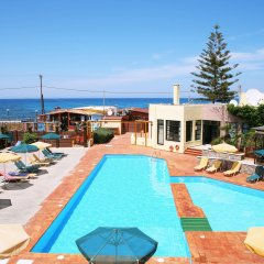 Отель Kaissa Beach Греция, Гувес - 1 отзыв об отеле, цены и фото номеров - забронировать отель Kaissa Beach онлайн бассейн фото 3