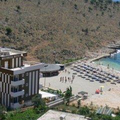 Отель Mucobega Hotel Албания, Саранда - отзывы, цены и фото номеров - забронировать отель Mucobega Hotel онлайн пляж