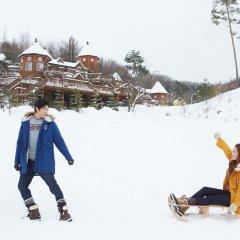 Отель KOREA QUALITY Elf Spa Resort Hotel Южная Корея, Пхёнчан - отзывы, цены и фото номеров - забронировать отель KOREA QUALITY Elf Spa Resort Hotel онлайн спа