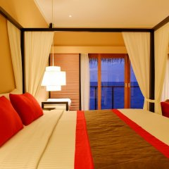 Отель Adaaran Prestige Ocean Villas Мальдивы, Северный атолл Мале - отзывы, цены и фото номеров - забронировать отель Adaaran Prestige Ocean Villas онлайн комната для гостей фото 4