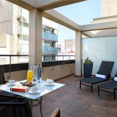 Отель Abba Centrum Alicante балкон