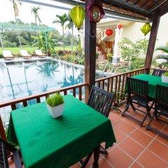 Отель Lama Villa Hoi An Вьетнам, Хойан - отзывы, цены и фото номеров - забронировать отель Lama Villa Hoi An онлайн балкон