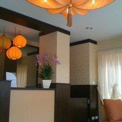 Апартаменты Purita Serviced Apartment Бангкок интерьер отеля