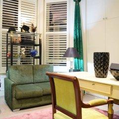 Апартаменты Cosy 1 Bedroom Studio Flat in Knightsbridge Лондон интерьер отеля