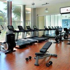 Lisbon Marriott Hotel фитнесс-зал