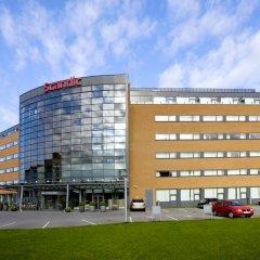 Отель Scandic Sydhavnen Копенгаген вид на фасад